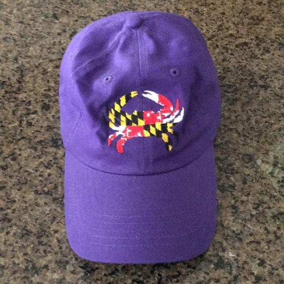 f6528a1b6db Accessories - Maryland crab flag baseball hat